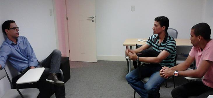 Visita dos Alunos da CET Faesa em Julho de 2012