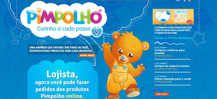 Pimpolho: Websites e Blogs