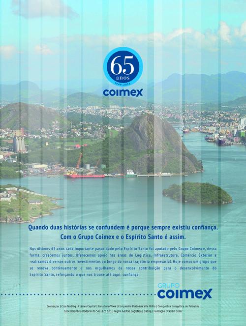 Coimex no 16º Anuário 200 Maiores Empresas do ES