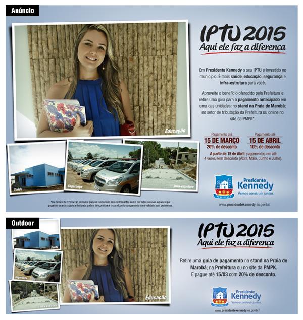 Prisma cria campanha de IPTU para Prefeitura de Pres. Kennedy