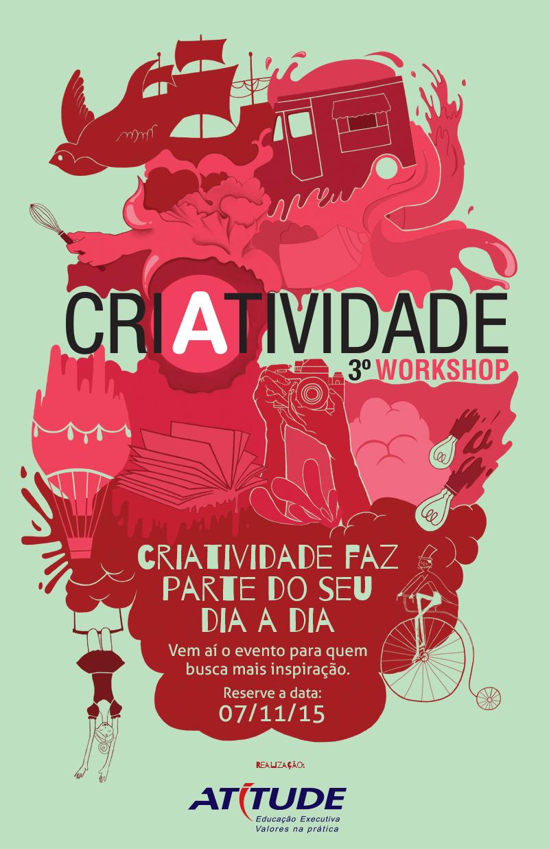 III Workshop de Criatividade propõe ideias inovadoras para todos os setores.