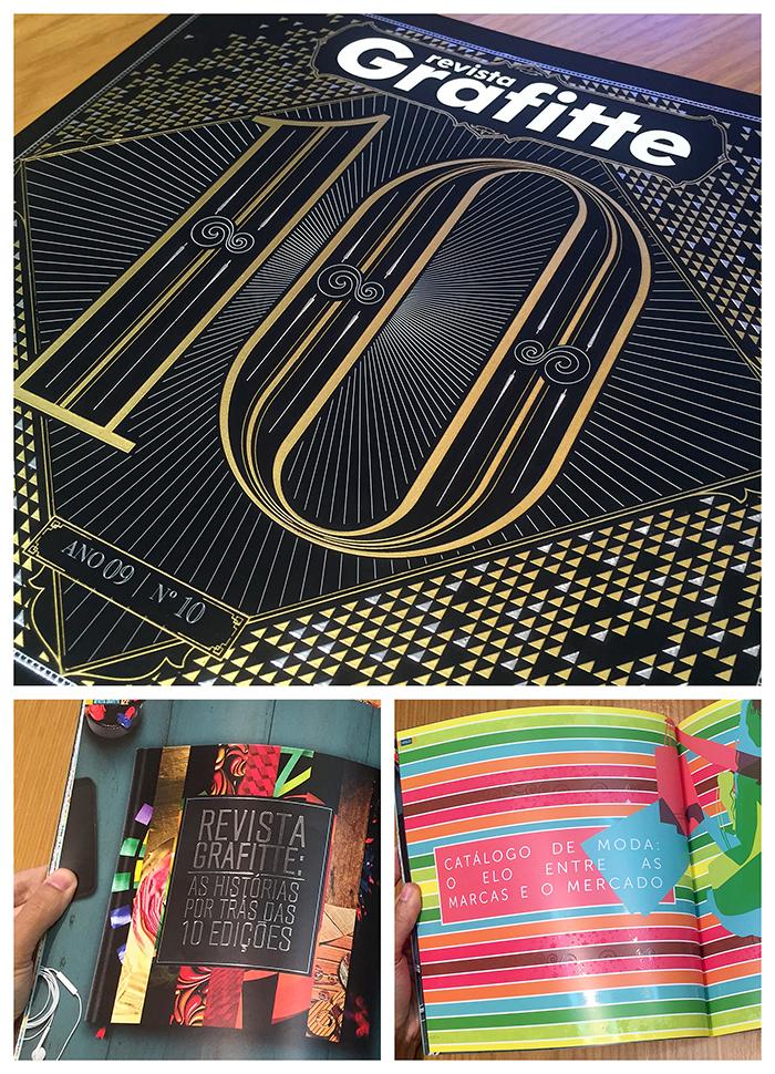 10ª edição da Revista Grafitte