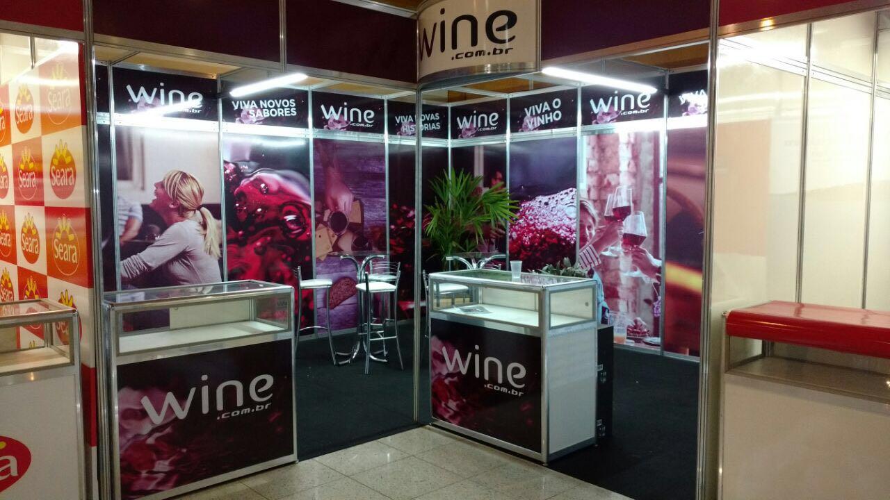 Equipe Eventos e Wine na Expovinhos 2016