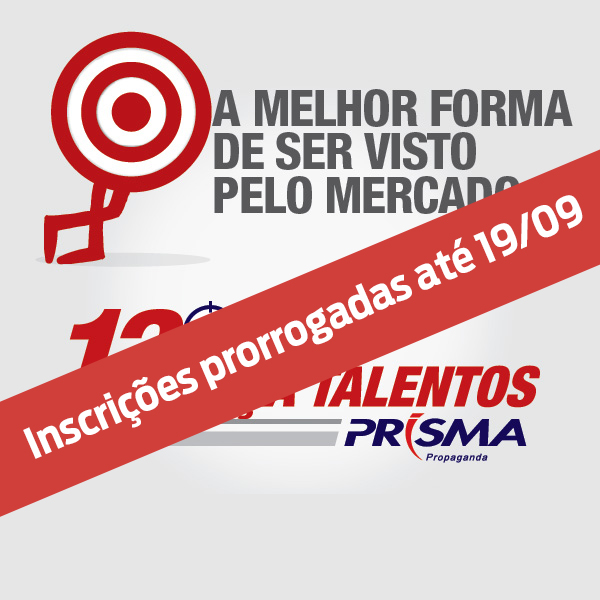 Caça-Talentos Prisma – Inscrições Prorrogadas!
