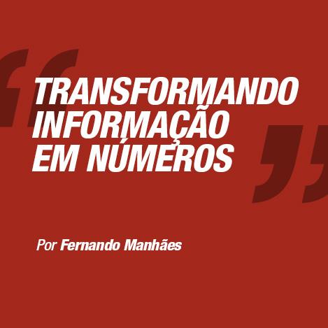 Transformando informação em números