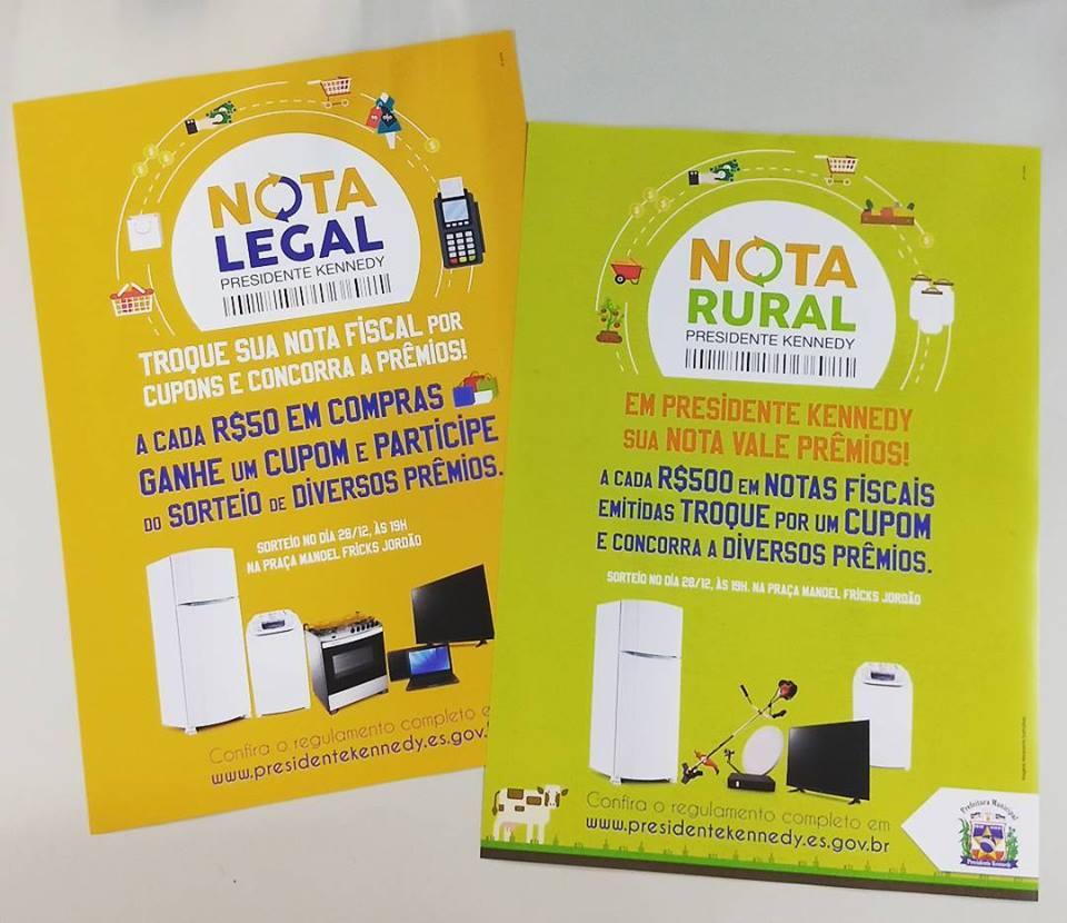 PMPK promove Nota Legal e Nota Rural