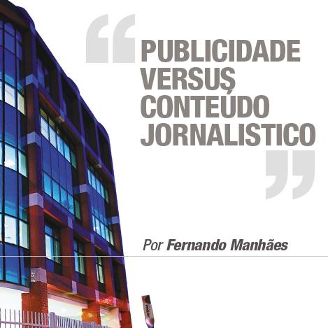 Publicidade versus conteúdo Jornalístico