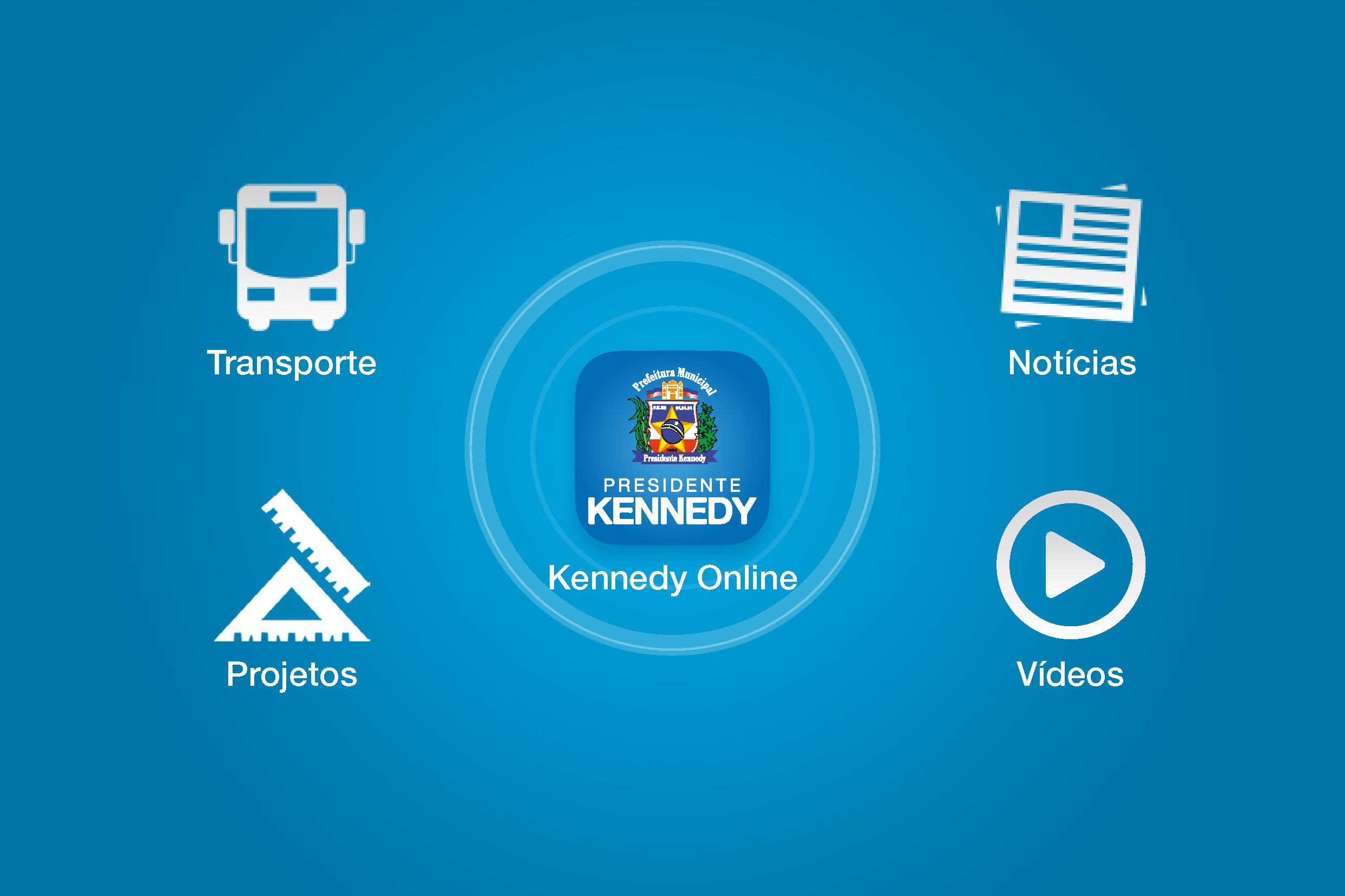 Kennedy Online: O aplicativo da prefeitura de Presidente Kennedy